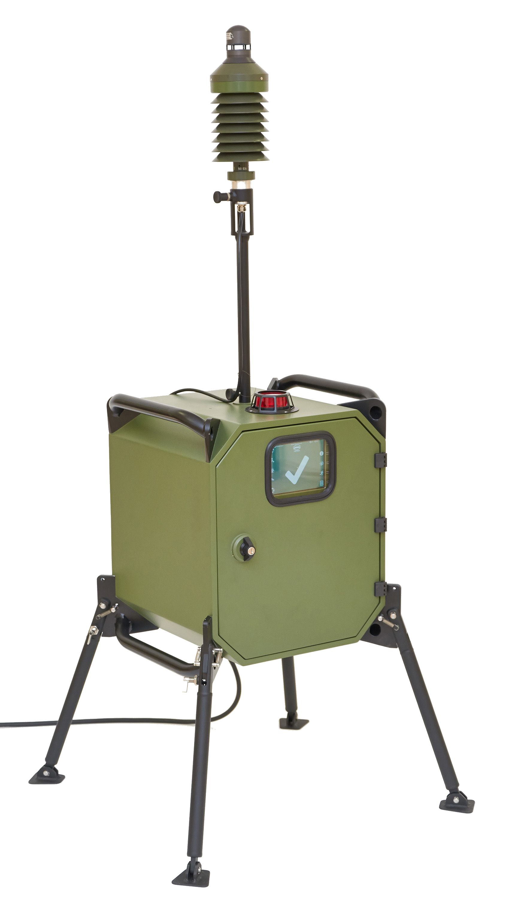 Mobile CBRN Detector Box