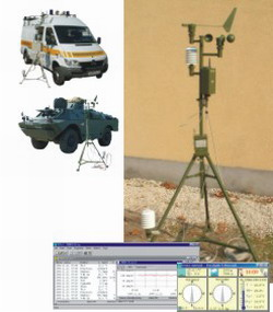 TVS-3M MOBILE ENVIRONMENT MONITORING STATION