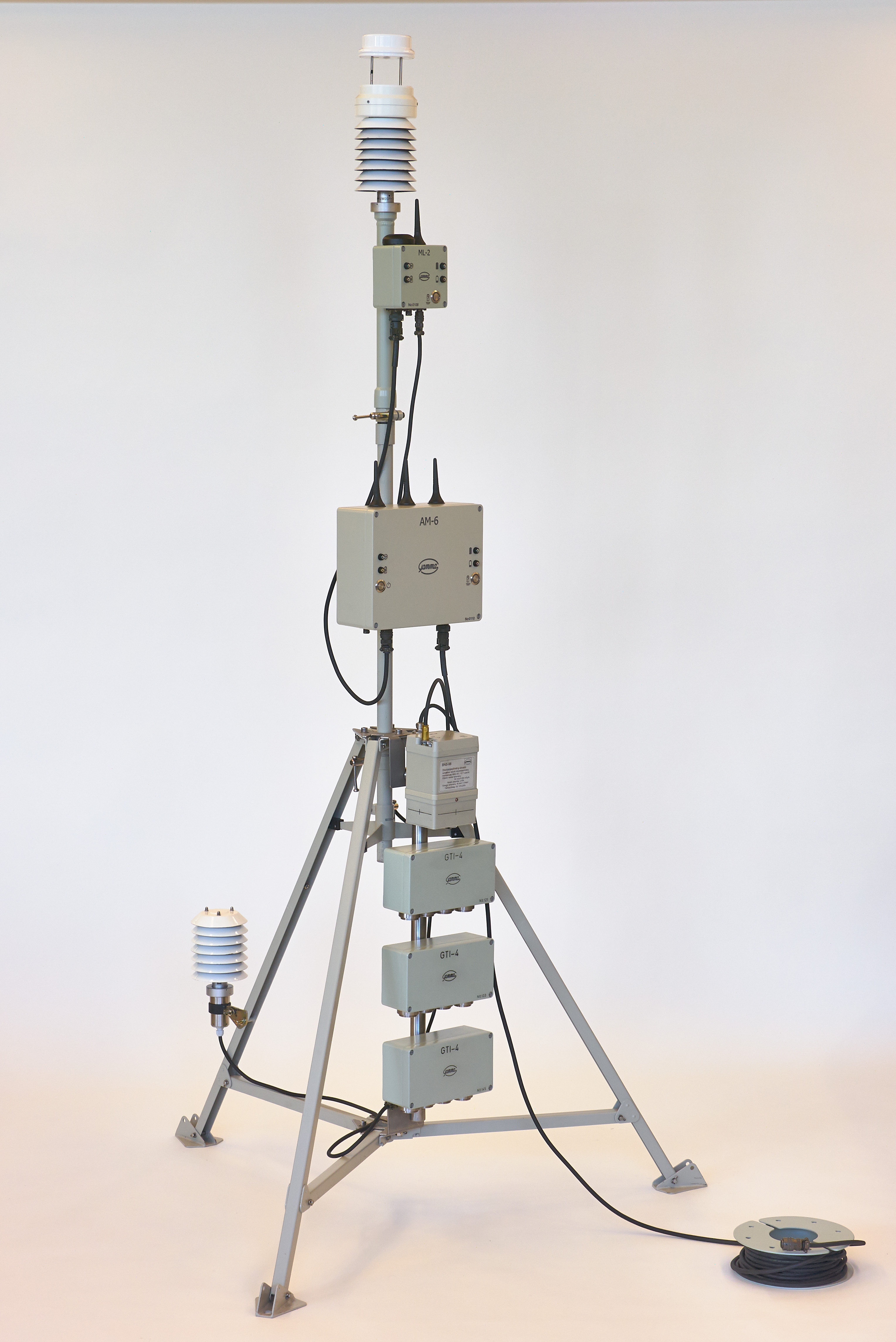 TVS-3MLU MOBILE ENVIRONMENT MONITORING STATION