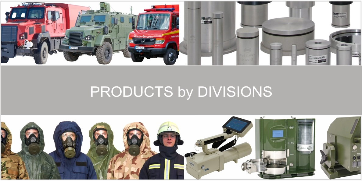 Products by divisions